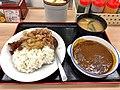 Curry and beef at matsuya, kichijoji (47841054901).jpg