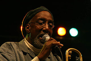 Curtis Fowlkes American jazz trombonist and singer