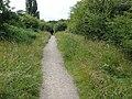 Cyclepath on Old Railway Embankment - geograph.org.uk - 877962.jpg