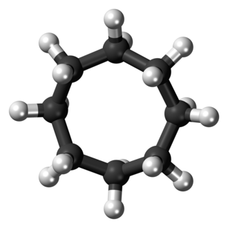 Cyclooctane - Image: Cyclooctane crown 3D balls