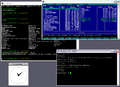 Cygwin X11 rootless WinXP.png