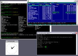 Cygwin desktop Windows XP alatt