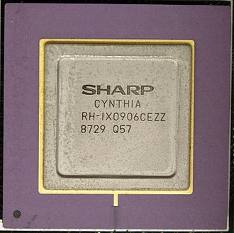 X68000 - Cynthia Video Sprite Chipset in the Sharp X68000 Computer. Original 1987 CZ-600C model