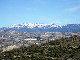Mount Olympus (Cyprus) - Mount Olympus in Winter