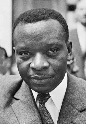 Cyrille Adoula - Image: Cyrille Adoula 1963