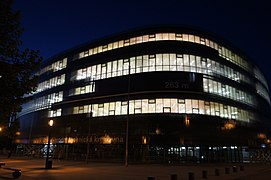 Czech National Library of Technology at Night.jpg