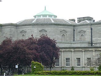 Leinster House - Victorian era extension