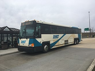 DART First State - DART First State bus 914 at the Christiana Mall Park & Ride on the Route 301 line