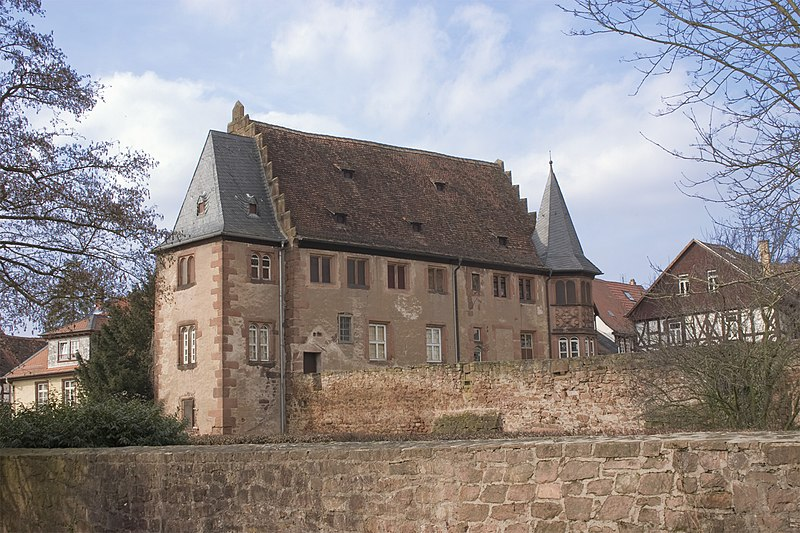File:DE HE Büdingen Steinernes Haus Süd-Ost by Steschke.jpg