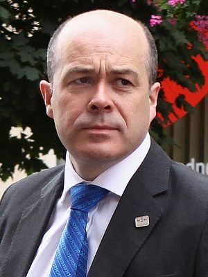 Minister for Communications, Climate Action and Environment - Image: DOOR STEP 2016 07 12 Denis Naughten (27644046983)