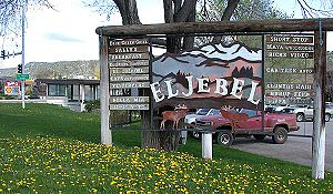 El Jebel, Colorado - El Jebel sign