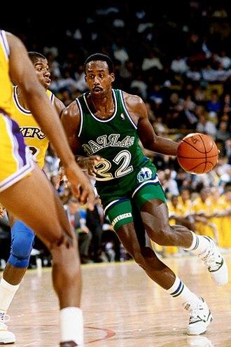 Rolando Blackman - Blackman with the Dallas Mavericks in 1990