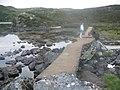 Dam on Loch Buaile Bhig - geograph.org.uk - 987002.jpg
