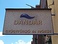 Dandár Bath (1930). Listed ID -8559. Sign. - Vaskapu Street, Budapest.JPG