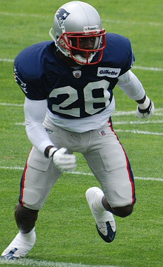 Darius Butler - Butler at Patriots training camp in 2009.