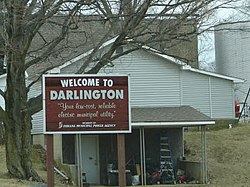 Darlington, Indiana.
