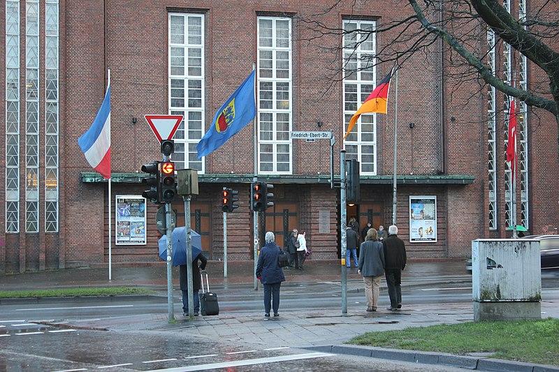 File Das Deutsche Haus zum Neujahrsempfang der Stadt