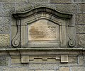 Datestone on the Warley Clubhouse, Stock Lane, Warley Town. Warley - geograph.org.uk - 567864.jpg