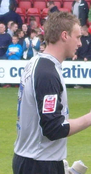 David Stockdale - Stockdale training with Leicester City in 2009