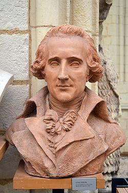 buste en terre cuite œuvre de David d'Angers
