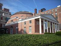 Davidge Hall, 522 W. Lombard St., Baltimore City, Maryland.JPG