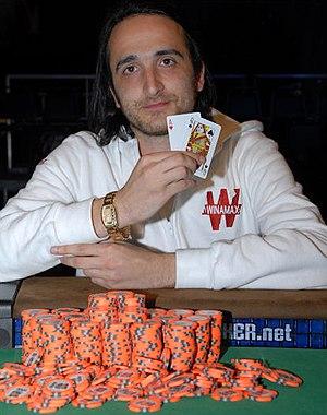 Davidi Kitai - Davidi Kitai after his win at the 2008 World Series of Poker