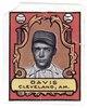 Davis, Cleveland Naps, baseball card portrait LCCN2007683846.tif