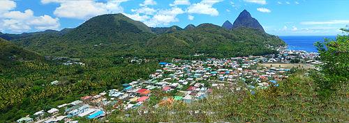 A View Of Soufrière
