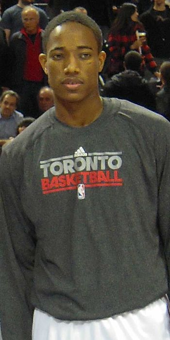 DeMar DeRozan of the Toronto Raptors {| class=...