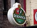De Koninck lichtreclame, Bier Reclamemuseum.JPG