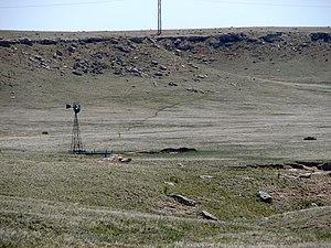 National Register of Historic Places listings in Cheyenne County, Nebraska - Image: Deadwod Draw nr Sidney NE