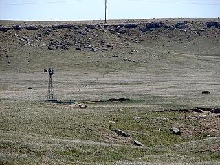 Deadwood Draw is part of the Sidney-Black Hills Trail near Sidney, Nebraska