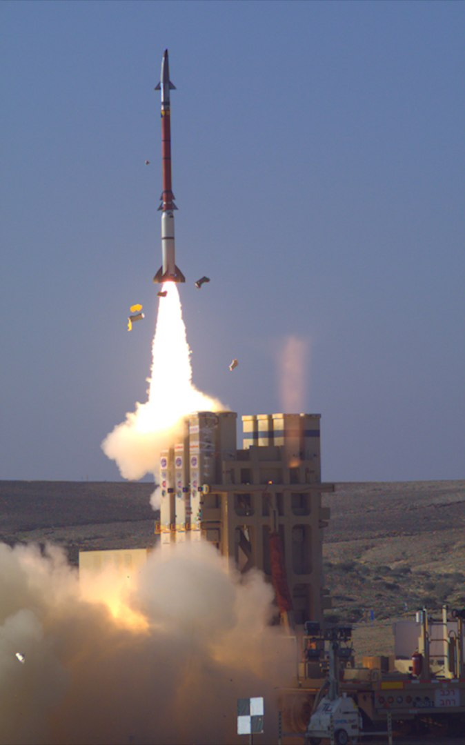 Dec., 2015 - David's Sling Weapons System Stunner Missile successfully completed a series of tests (3)