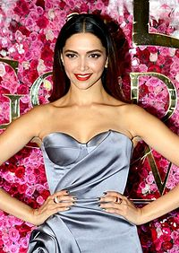 A shot of Deepika Padukone posing for the camera