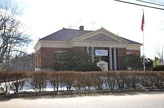 Deerfield, New Hampshire - Image: Deerfield NH Library