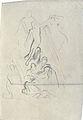 Dehodencq A. - Pencil - Esquisse pour une descente de croix - 10.5x7.5cm.jpg