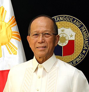 Secretary of National Defense (Philippines) - Image: Delfin Lorenzana