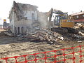 Demolition of the Athabasca Trades Building, Athabasca AB.JPG