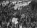 Demonstratie Belgische Katholieken Antwerpen tegen schoolwet Collard.jpg