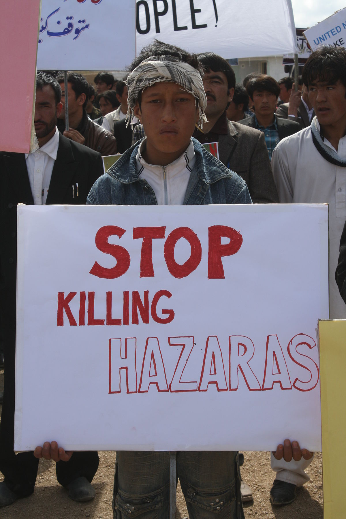an arrangement of the discrimination against the hazara community In 1880, the hazara community comprised of landed nobility, peasants and   the shi'a hazaras are historically the most discriminated ethnic minority group in  the  mazari signed an agreement with the taliban leadership in 1993 but was.