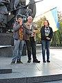 Demonstration in support of Ukrainian language bill in Kharkiv 2019-04-24 (04).jpg