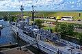 Den Helder - Marinemuseum - View WNW from Submarine on HNLMS Abraham Crijnsen.jpg