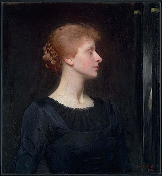 Dennis Miller Bunker - Jessica, 1890. Museum of Fine Arts, Boston
