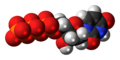 Deoxyuridine triphosphate anion 3D spacefill.png