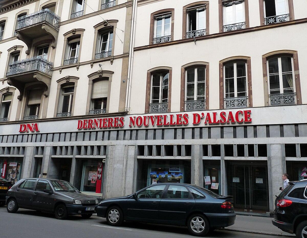 Les derni res nouvelles d 39 alsace wikipedia for Alsace carrelage strasbourg