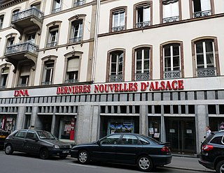 <i>Les Dernières Nouvelles dAlsace</i> periodical literature