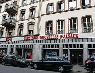 Les Dernières Nouvelles d'Alsace - Seat in Strasbourg