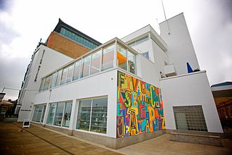 Design Museum - The old Shad Thames site of the Design Museum, in 2010