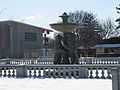 Detroit Zoo fountain in the winter March 2008.jpg