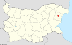 Devnya Municipality within Bulgaria and Varna Province.